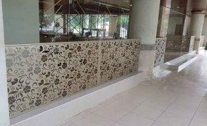 jasa pembuatan dan pemasangan pagar custom motif
